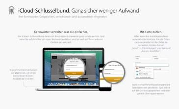 OS X Mavericks - Schlüsselbund