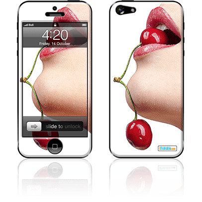 Cherry Lady iPhone 5