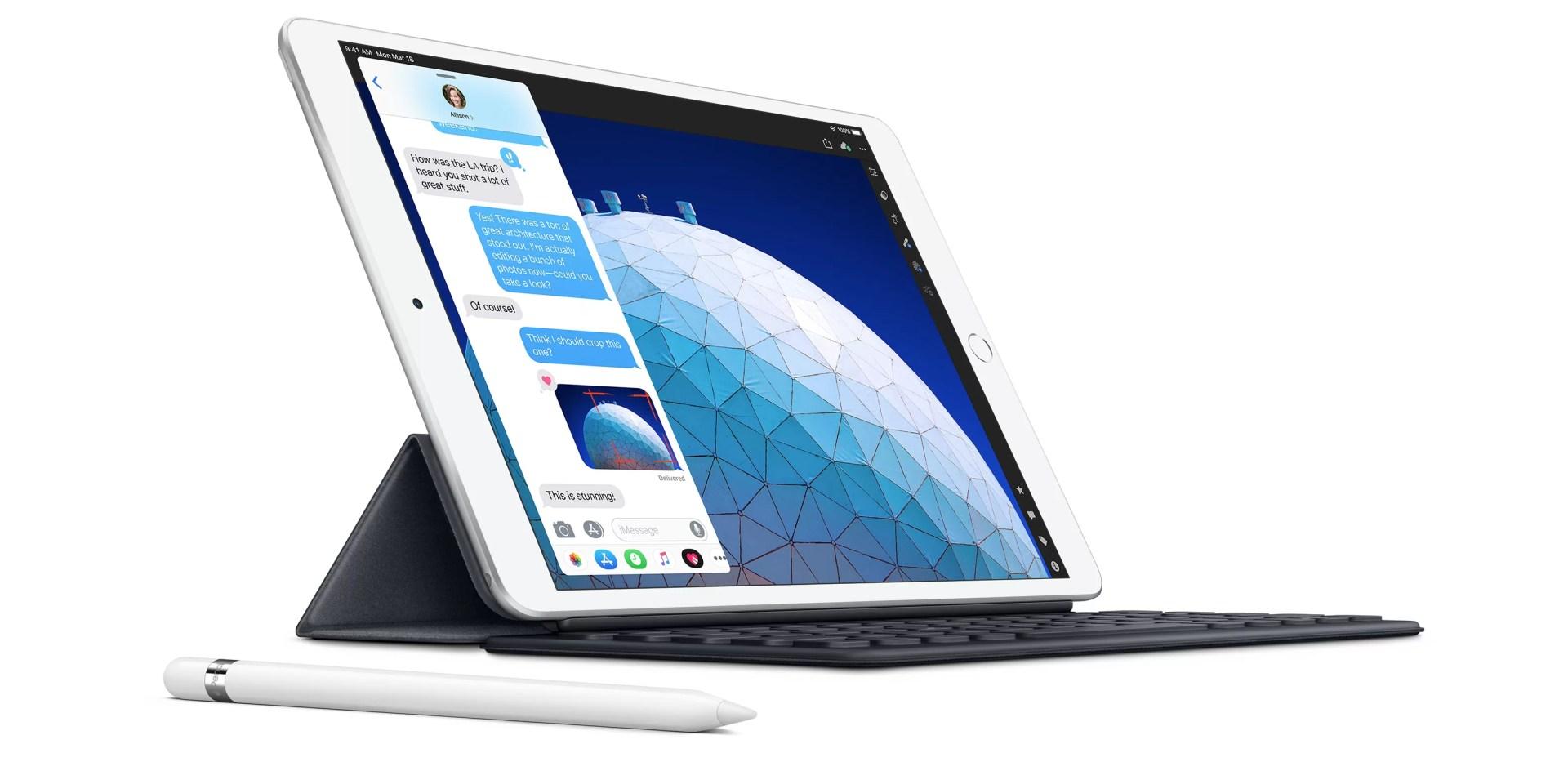 iPad Air mit Apple Pencil