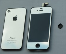 iPhone 4 Silver Conversion Kit 2