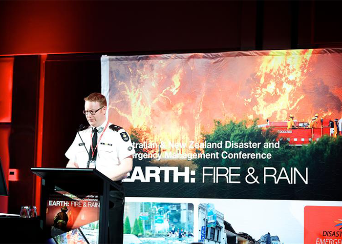 Associate Professor Brett Aimers, Chief Professional Officer, St John Ambulance Australia and Conference Co-Chair.
