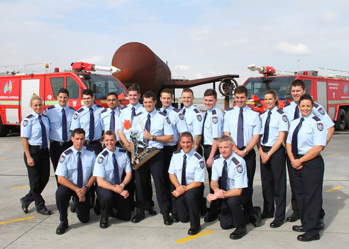 Recruits ready – aviation fire fighters complete elite training