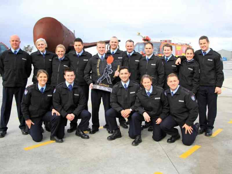 Fire fighter recruits ready for their next chapter at airports