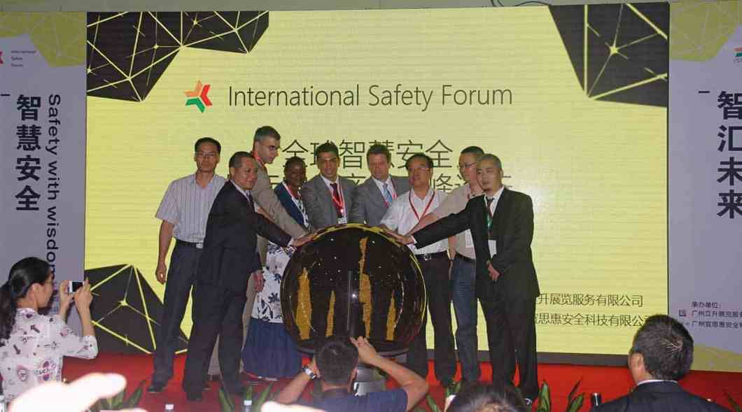 The Opening Ceremony of the International Safety Forum.