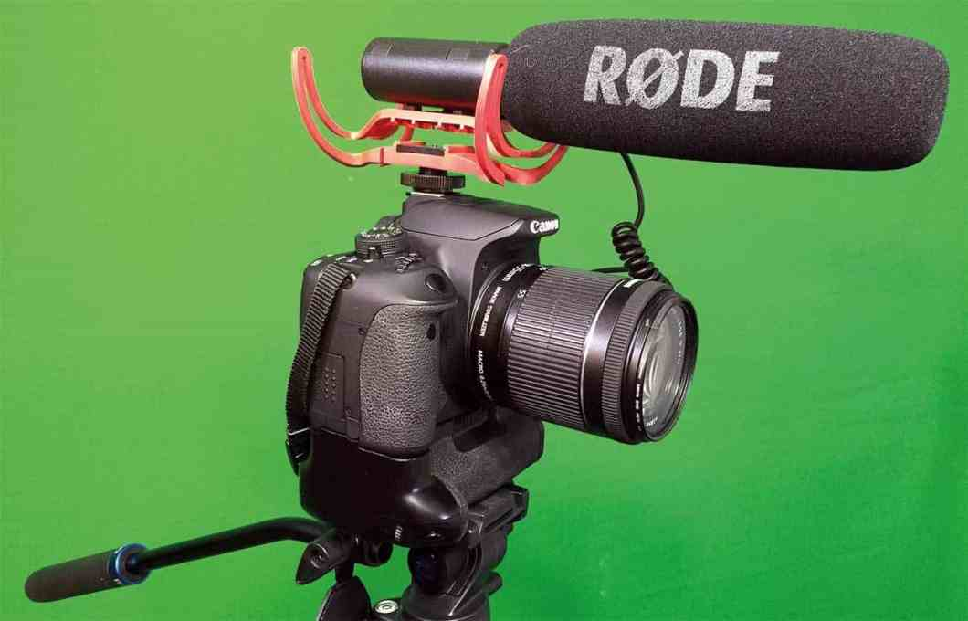 A shotgun microphone, whether it is on a boom pole or on top of the camera, will help improve your sound. Feeding it into an external recorder, such as a Zoom H1n or H4n will make it even better.