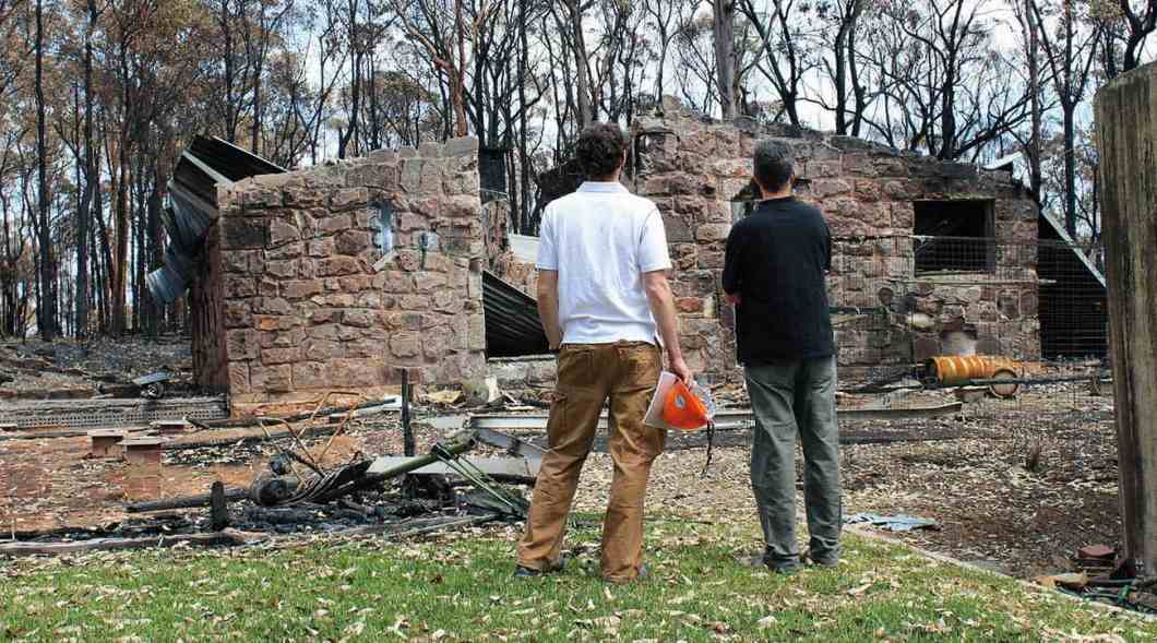 Investigating the October 2013 Blue Mountain bushfires.