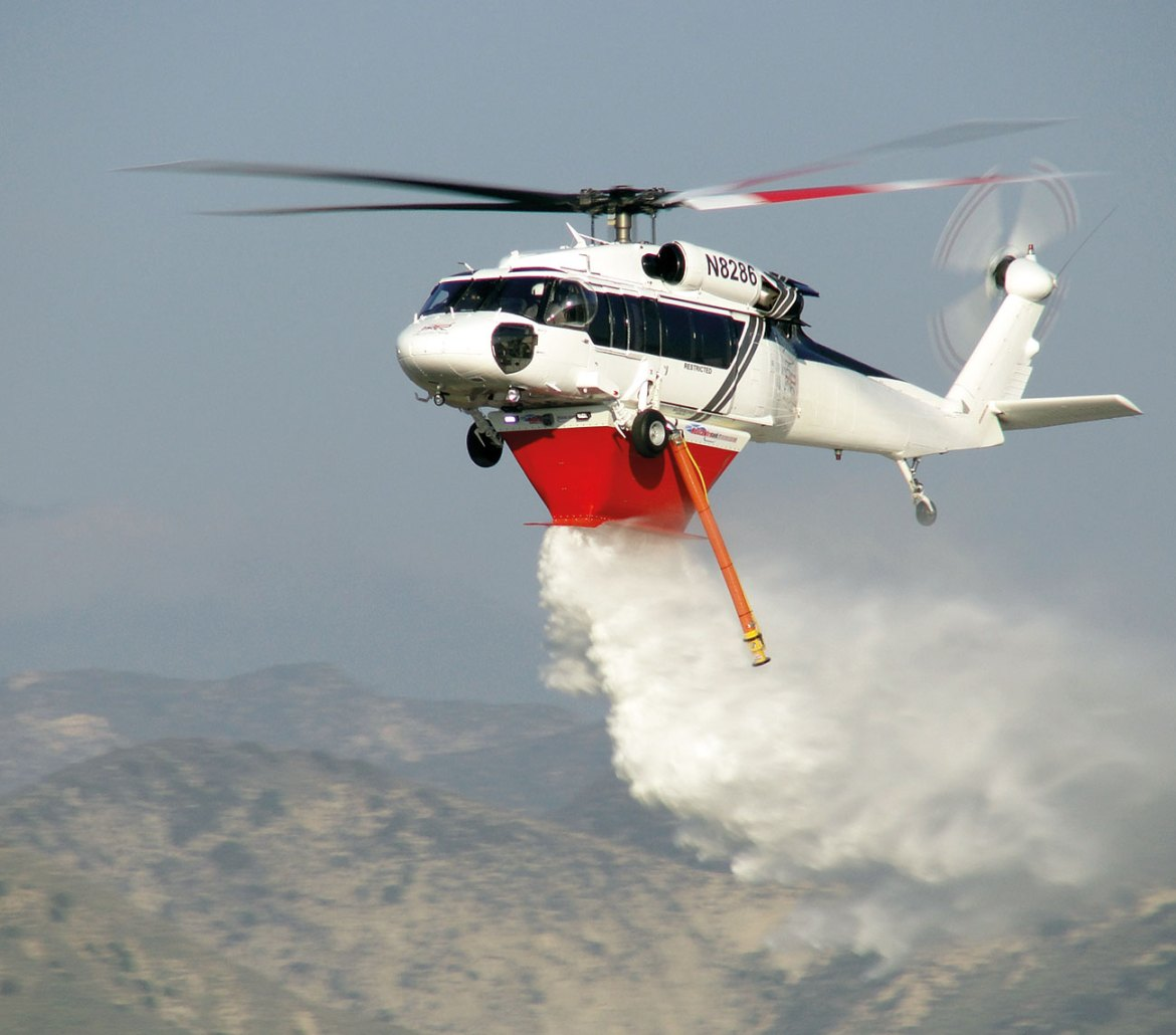 The FT4500 on California based High Performance Helicopters UH60A.