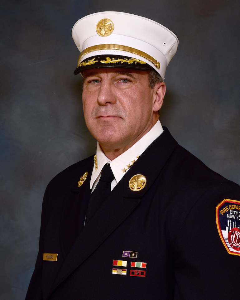 Chief of Fire Operations Hodgens. (FDNY)