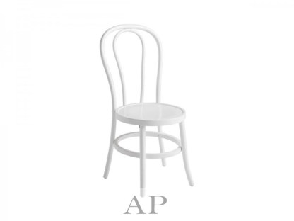white-bentwood-dining-chair