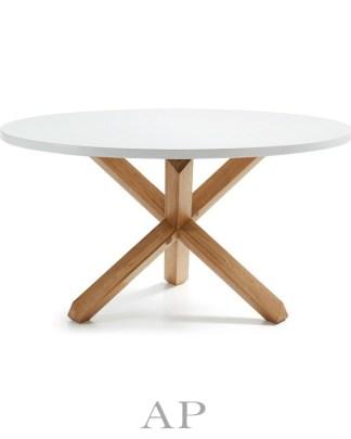 Dani-round-white-dining-table-natural-wood-legs-1-ap-furniture