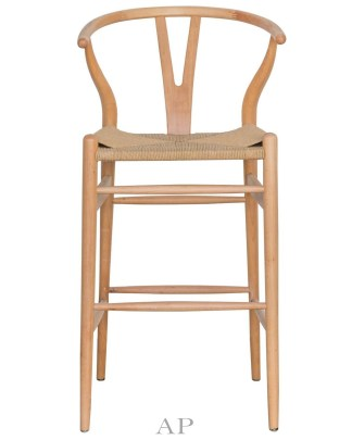 Hans-Wegner-Wishbone-replica-barstool-natural-natural-front-view-apfurniture