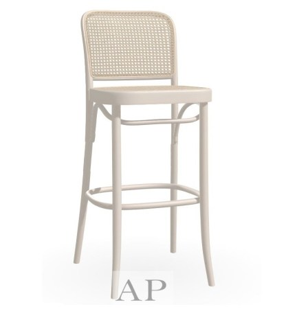 hoffman-bentwood-bar-counter-stool-chair-811-replica-white-natural-rattan-cane-seat-side-1-ap-furniture