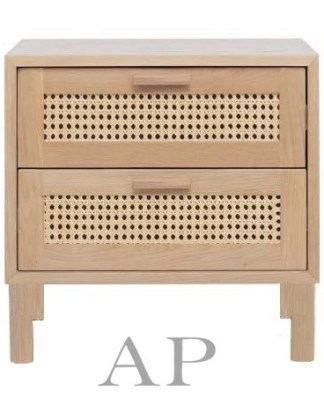 willow-bed-side-2-drawers-rattan-cane-wood-elm-ap-1-furniture