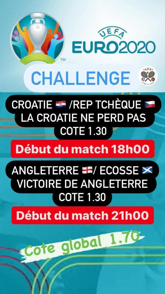 Prono challenge Euro