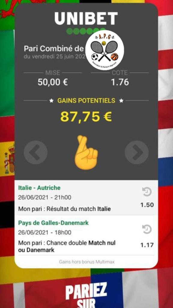 ticket paris euro2020