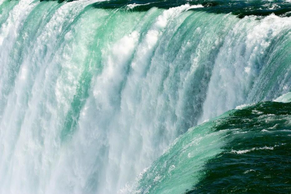 les chutes du Niagara: Variation de cote