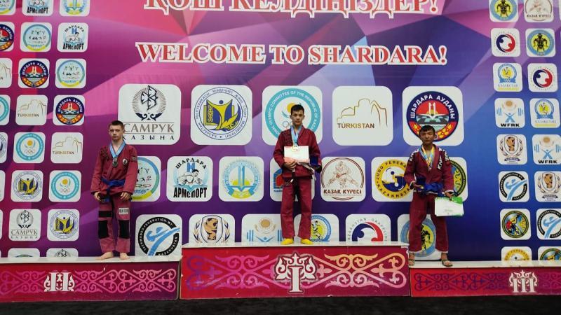 Акмолинский спортсмен стал чемпионом Казахстана по грэпплингу