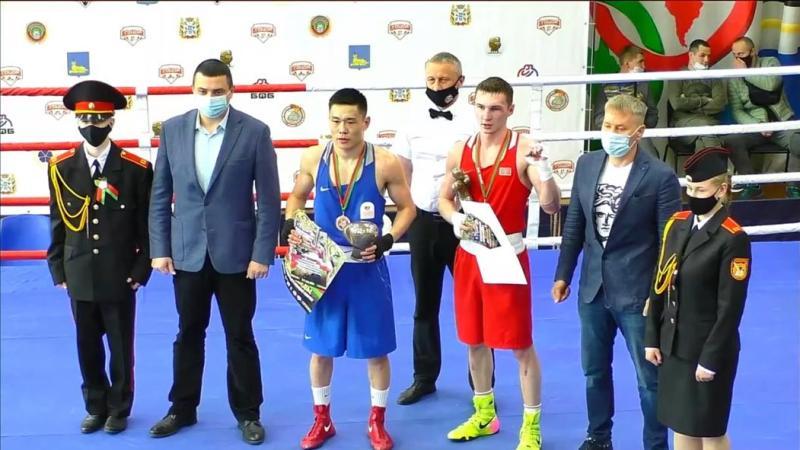 Акмолинский боксер выиграл «серебро» на международном турнире в Беларуси