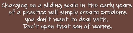sliding scale