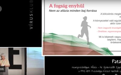 dr. Pataky Ilona – Az afázia fogságában VIDEÓ