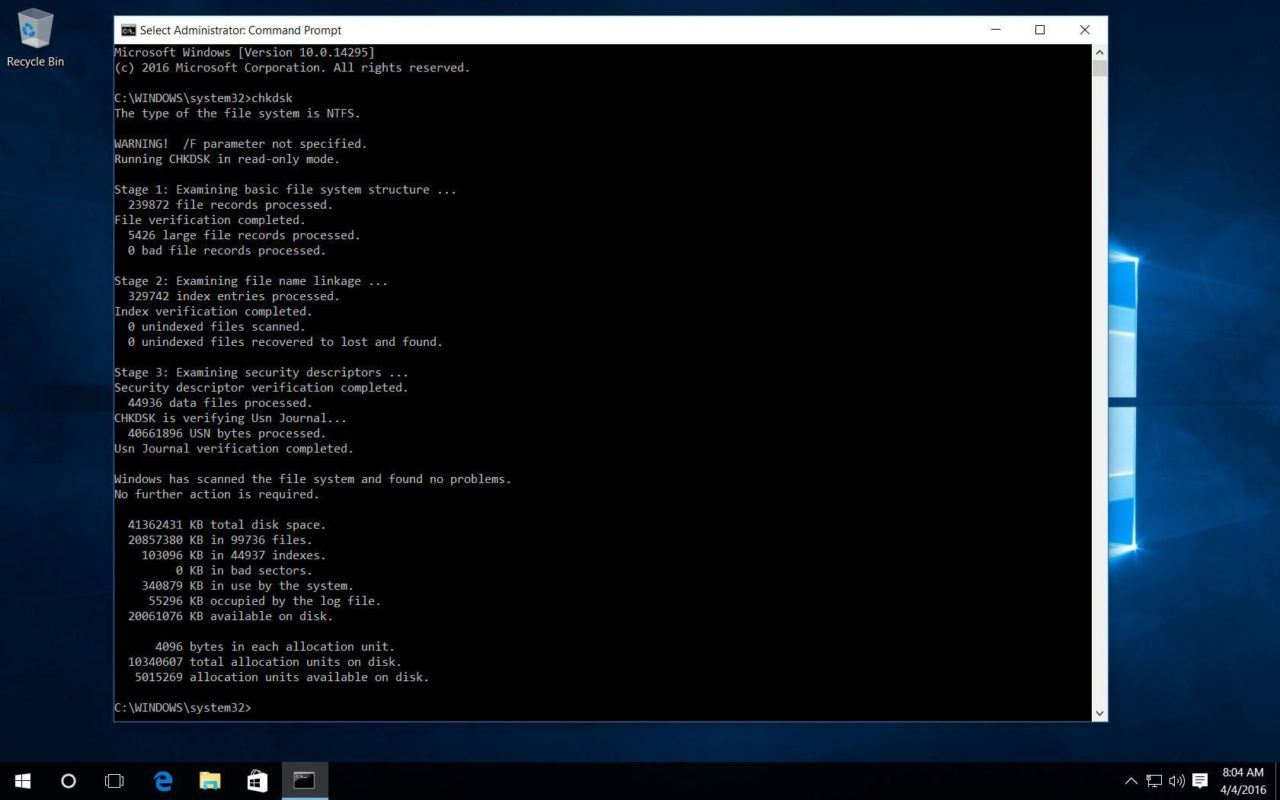 basic chkdsk windows 10 Call (224) 303-4312