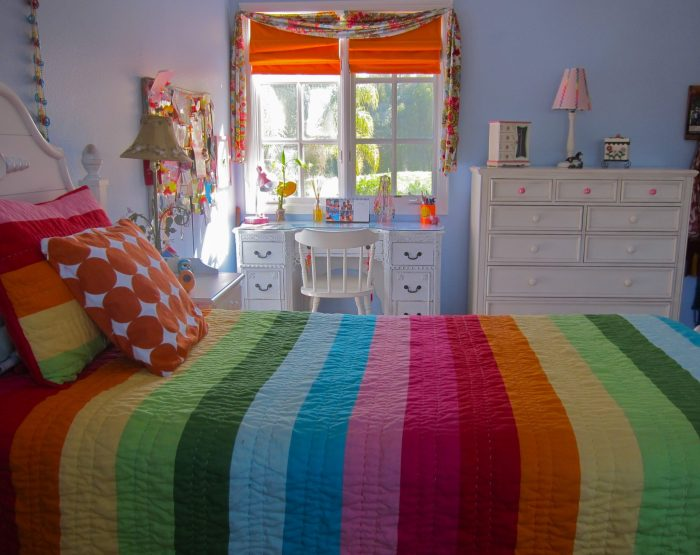 Young girl bedroom.