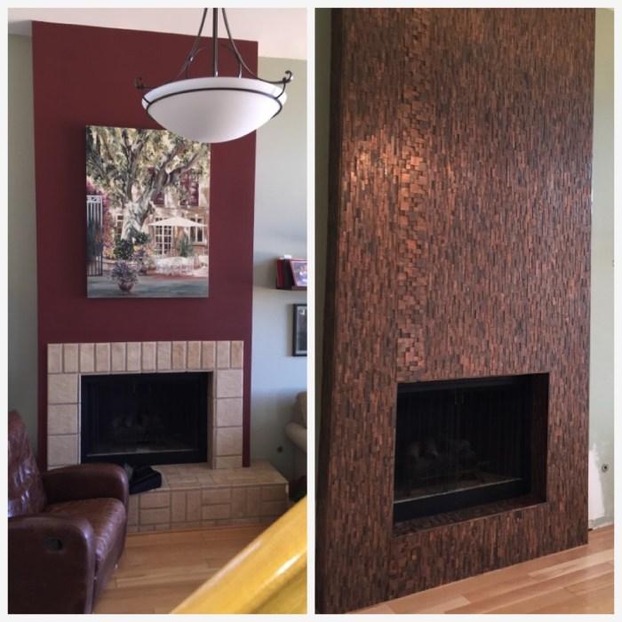 Newbury Park Contemporary Fireplace - Alicia Paley Home Interiors