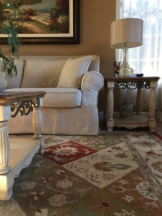 Living Room Rug - Alicia Paley Home Interiors