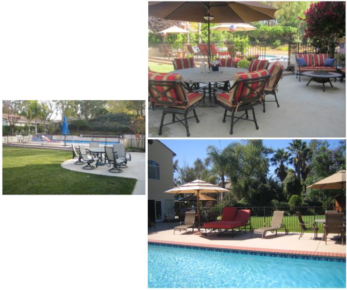 Lynn Ranch Backyard - Alicia Paley Home Interiors