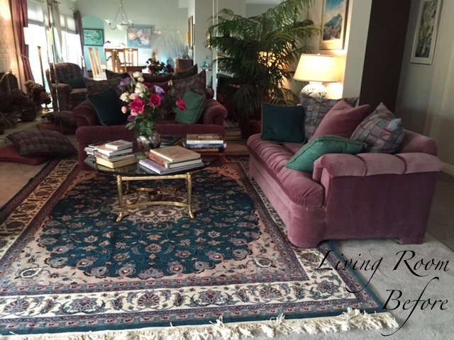 Before - Thousand Oaks Living Room Design