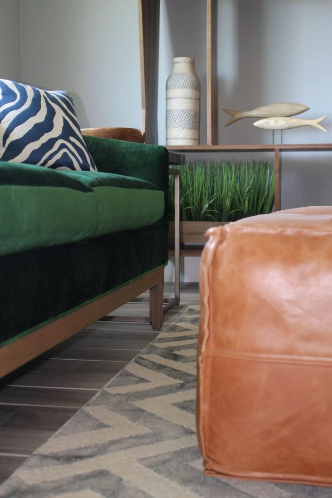 Thousand Oaks Living Room - Ottoman Closeup