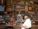 A Faithful Patron at the Genoa Bar