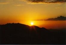Sunrise Over the Washoe Mountains