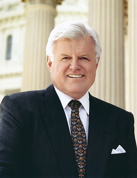 Ted Kennedy - Congressional Photo, Public Domain