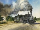 """SLOW TRAIN DOWN SOUTH"" BY DON COKER"