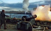 Cannon Fire at Fort Lee