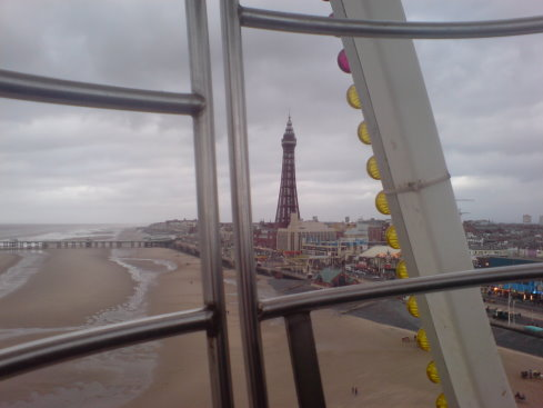 The Tower from the Ferris Wheel on the Central Pier
