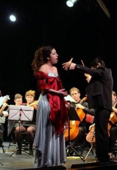 "Paris Concert ""Canto alla Vita!"" with Orchestre Symphonique du XX, Photo: Michel Ciesiolka"
