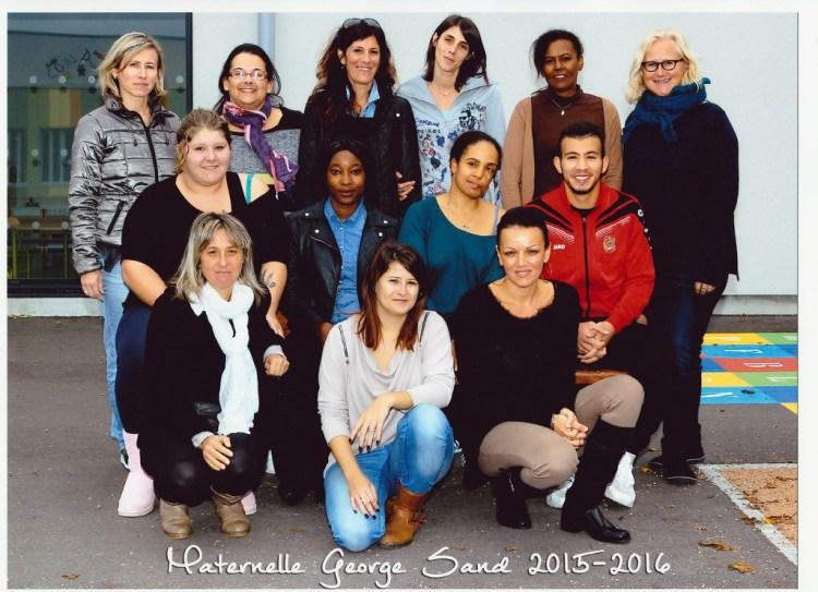 Equipe ALAE Maternelle 2015-2016