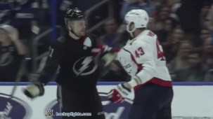 Erik Cernak vs. Tom Wilson