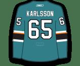Erik Karlsson's Jersey