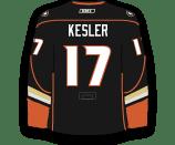 Ryan Kesler's Jersey
