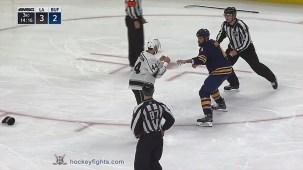 Zach Bogosian vs. Nate Thompson
