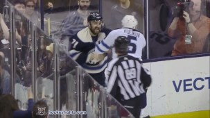 Nick Foligno vs. Dmitry Kulikov