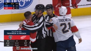 Filip Hronek vs. Vincent Trocheck