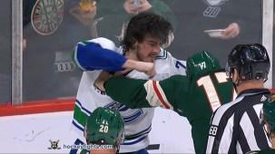 Marcus Foligno vs. Zack MacEwen
