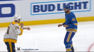 Robert Bortuzzo vs. Jarred Tinordi