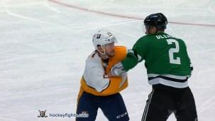 Jamie Oleksiak vs. Mathieu Olivier