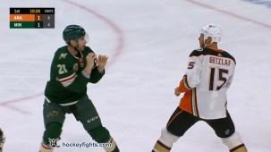 Carson Soucy vs. Ryan Getzlaf
