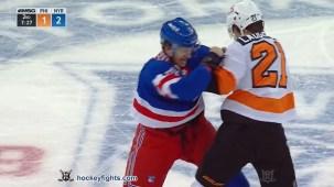 Kevin Rooney vs. Scott Laughton
